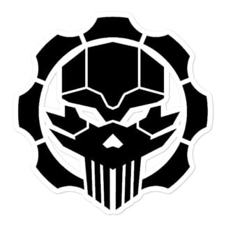 Tactical 512 Punisher Style Vinyl Decal Sticker